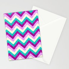 Chevron Jewel Stationery Cards
