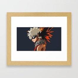 Katsuki Bakugou Framed Art Print