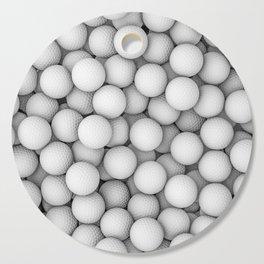 Golf balls Cutting Board