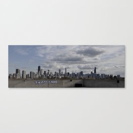 Welcome to the City Canvas Print