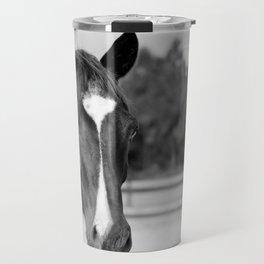 Decco in Black & White Travel Mug