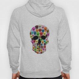 colorfull skull Hoody