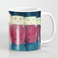 soldier Mugs featuring Soldier skittles by Gail Griggs