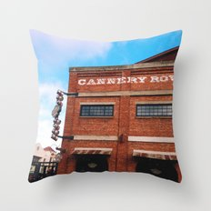 Cannery Row Throw Pillow