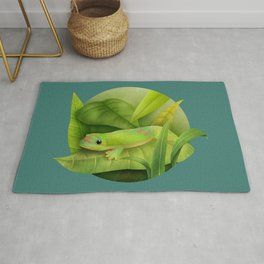 Giant Day Gecko Rug