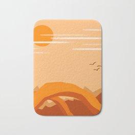Minimalist Arches Bath Mat