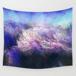 Andes (A Seismic Portrait) Wall Tapestry