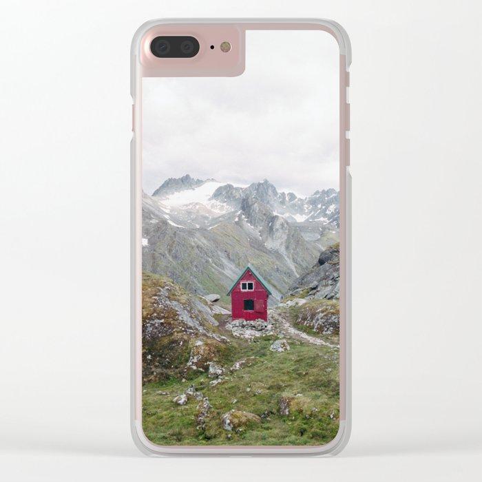 Mint Hut Clear iPhone Case