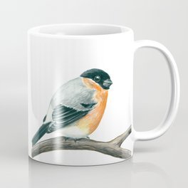 Bullfinch bird Coffee Mug