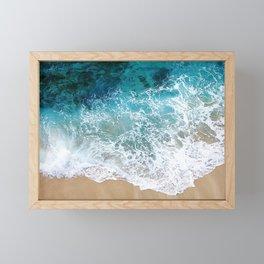 Ocean Waves I Framed Mini Art Print