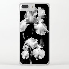 White Iris, Messenger Between Heaven And Earth Clear iPhone Case