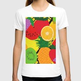 Fruits Pattern T-shirt