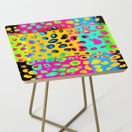 colorpop leopard Side Table
