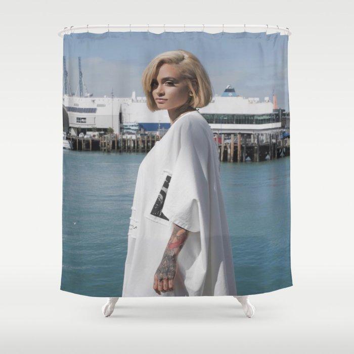 Kehlani 3 Shower Curtain