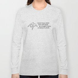 What Words Come Out Long Sleeve T-shirt