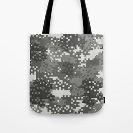 Pixel Urban Army Camo Pattern Tote Bag