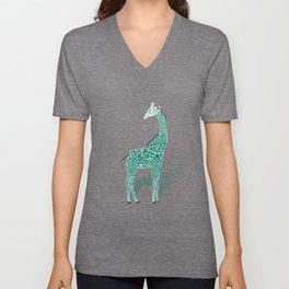 Animal Kingdom: Giraffe III Unisex V-Neck
