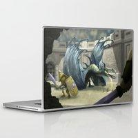 gladiator Laptop & iPad Skins featuring Gladiator by Ken Rolston