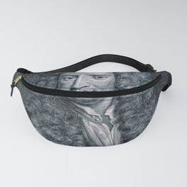 Gravity / Vintage portrait of Sir Isaac Newton Fanny Pack