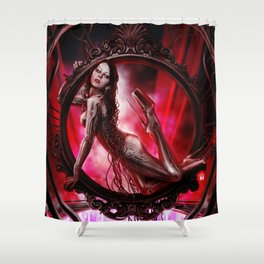 DOLLS - Patriciandroid Shower Curtain