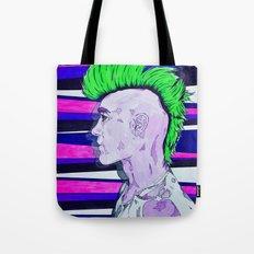 Neon Rock God Tote Bag