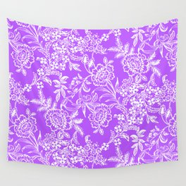 Radiant Orchid Tea Wall Tapestry