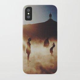 Miroir d'eau iPhone Case