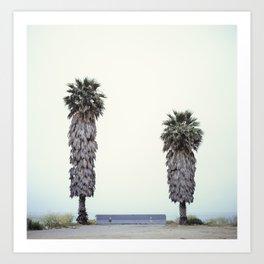 Two Palms Art Print