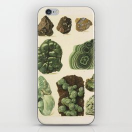 Natural Malachite iPhone Skin