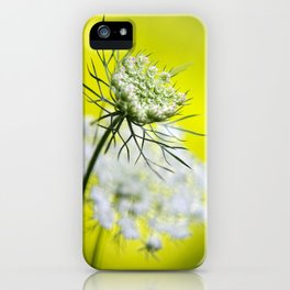 Lace Wildflower iPhone Case