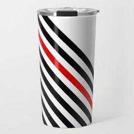 80s stripes Travel Mug