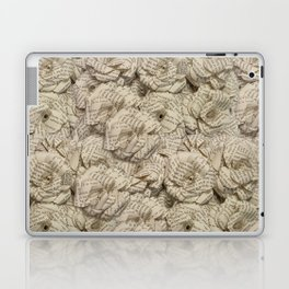 Book Page Flower Roses Laptop & iPad Skin