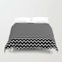 Black Chevron Duvet Cover