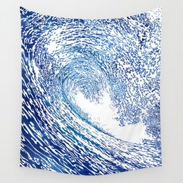 Pacific Waves IV Wall Tapestry