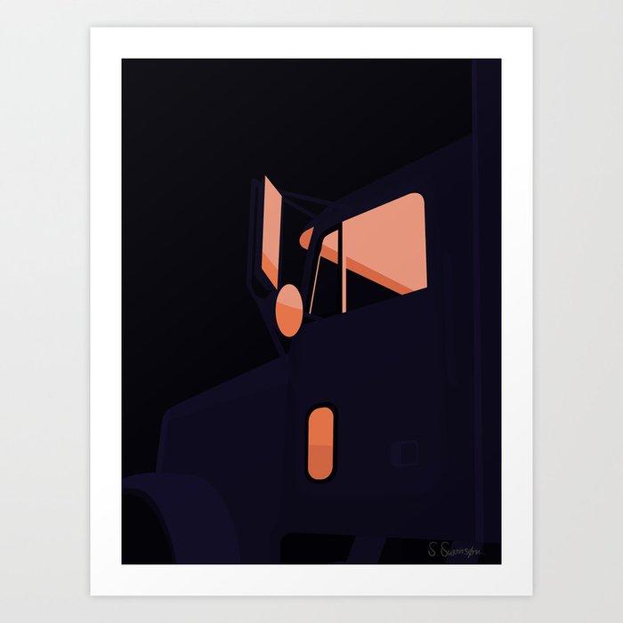 TUR Art Print