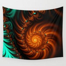 Fractal - She Sells Sea Shells Wall Tapestry