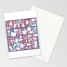 Abstract Symbols 01 Stationery Cards
