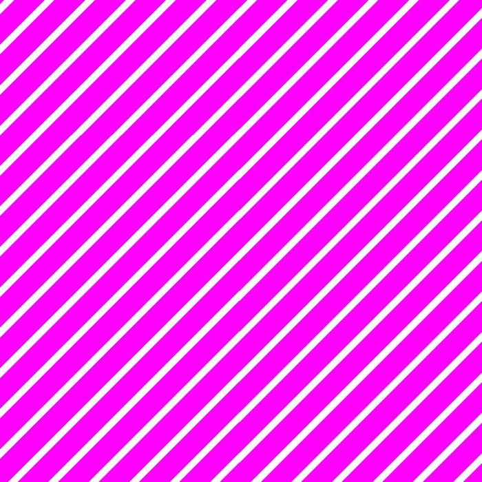 Diagonal Lines (White/Fuchsia) Leggings
