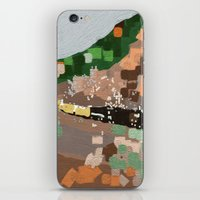 train iPhone & iPod Skins featuring Train by Robert Morris