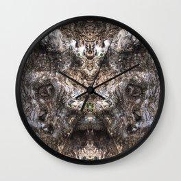 Hungry Hallow Tree Wall Clock