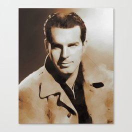 Hollywood Classics, Fred MacMurray, Actor Canvas Print