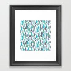 Let it Rain II Framed Art Print