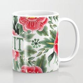 Idjit - Vintage Floral Tattoo Collection Coffee Mug