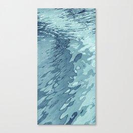 Aqua Shoreline Canvas Print