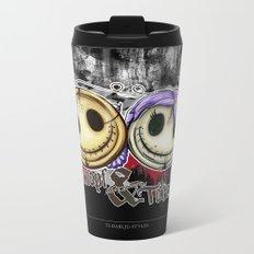 Totenknopf & Totenknöpfen Metal Travel Mug