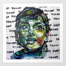 tramp star Art Print