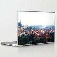prague Laptop & iPad Skins featuring Prague by Fallon Chase