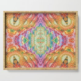 Psychedelic Journey GOA 1 Serving Tray
