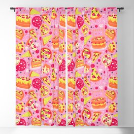 Pizza Party Blackout Curtain