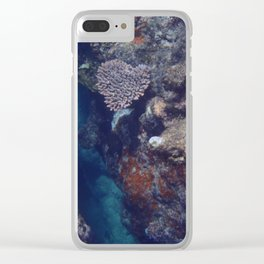 The Heart of the Reef Clear iPhone Case